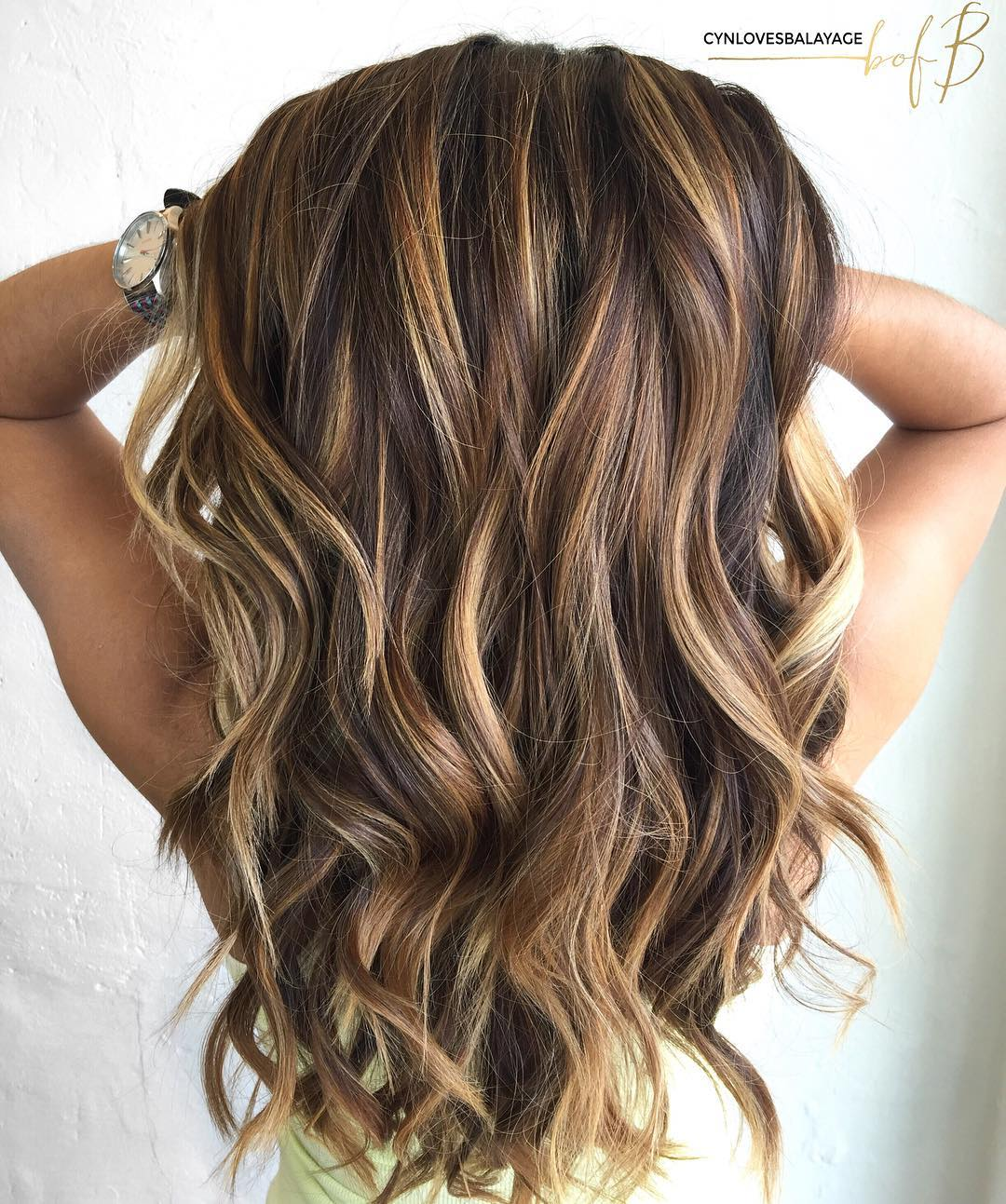 Color and Highlights hairstyle