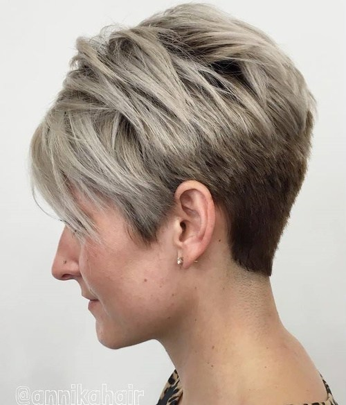 short hair -  pixie hairstyle