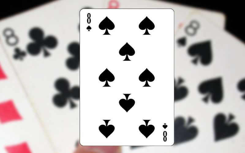 eight of spades card